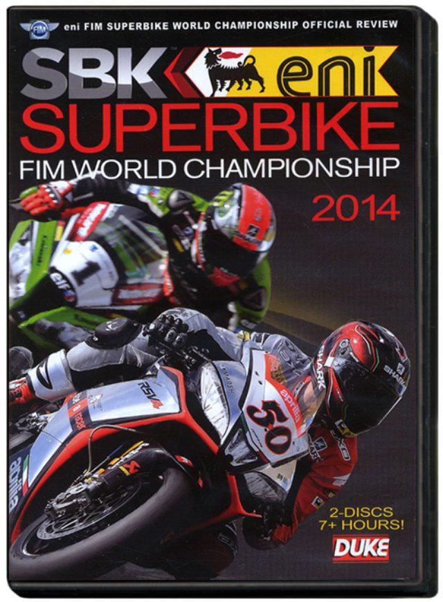 画像: DVD『スーパーバイク世界選手権2014総集編』と写真集『ドカティ・デスモドゥエ』