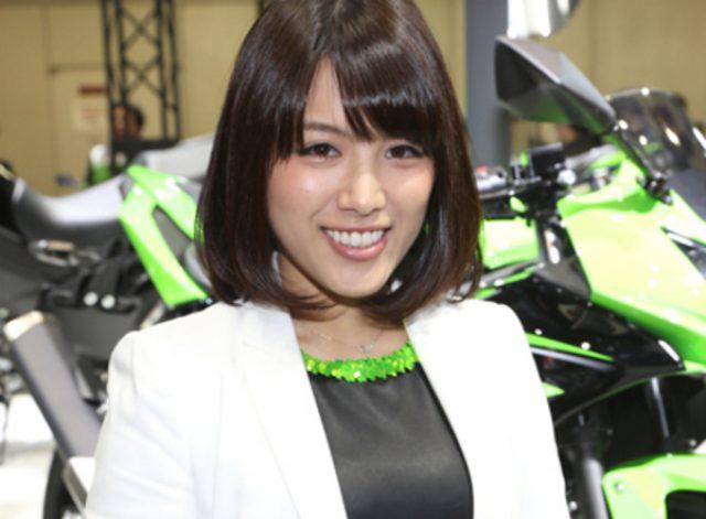 画像: 【東京モーターサイクルショー15】厳選コンパニオン図鑑...カワサキモータースジャパン
