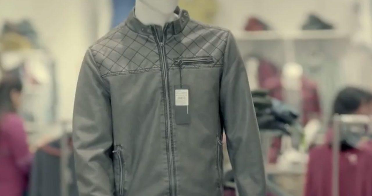 画像: ライダースのレザージャケット!