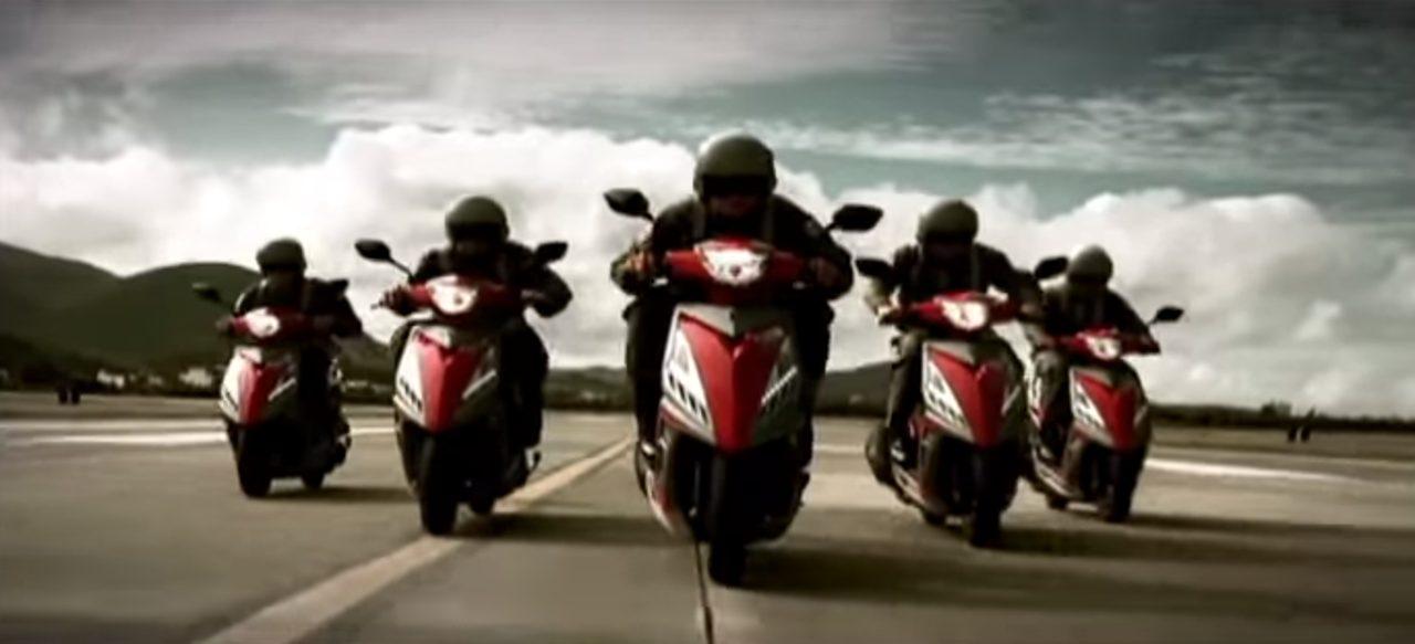 画像: あ、バイクなんだ・・。