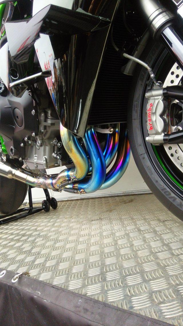 画像2: バイク腐女子的光り物。出会いはkawasaki Ninja H2R