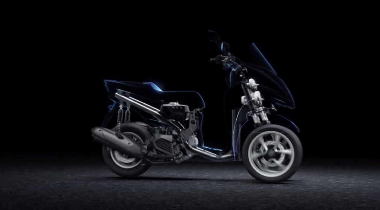 画像: 話題の三輪車TRICITY。あの形で本当に安定して走るのか?を技術的に説明してくれる動画 by YAMAHA