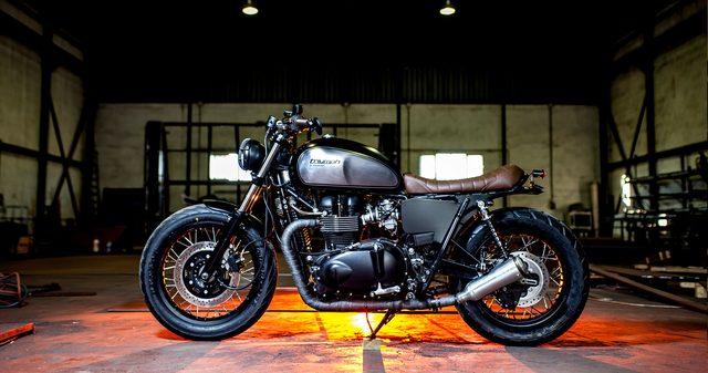 画像: スペインのカスタムバイクショップ Macco Motorsのトライアンフへのこだわり。 - LAWRENCE - Motorcycle x Cars + α = Your Life.