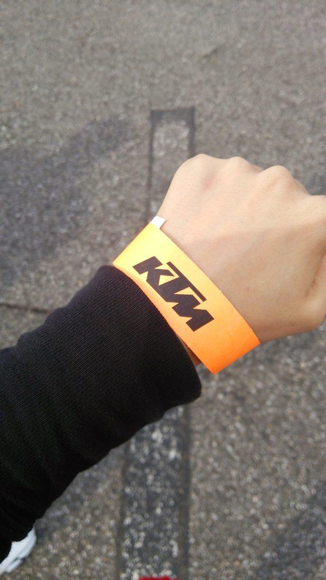 画像2: KTMオレンジキャラバン東京に行って来ました。