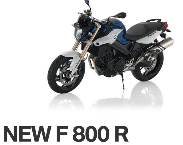 画像: BMW F800R www.bmw-motorrad.jp
