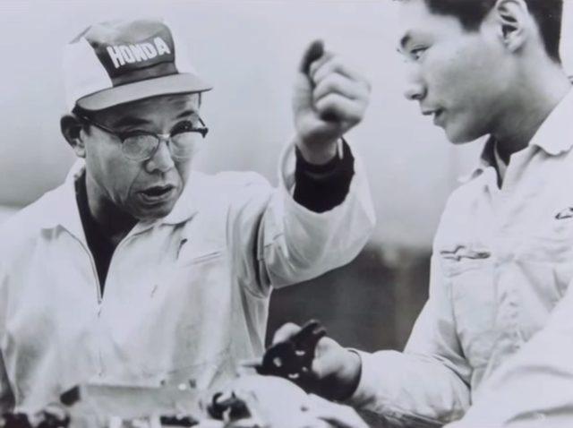 画像: 本田宗一郎。世界に誇れるニッポンのオヤジだ。