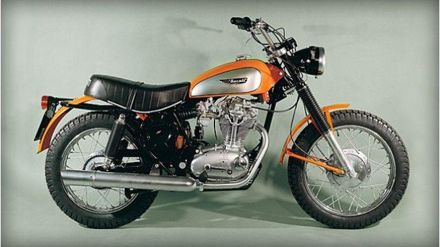 画像: 1968年に発売されたドゥカティ・スクランブラー www.ducati.co.jp