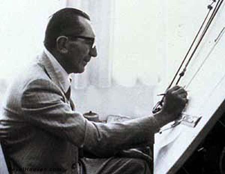 画像: ドゥカティ・デスモドロミックの生みの親、そしてドゥカティVツインの生みの親でもある名エンジニア、ファビオ・タリオーニ。 bevelheaven.com