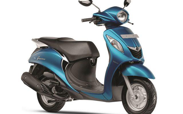 画像: ヤマハ発動機、ファッションスクーター Fascino をインド市場に投入