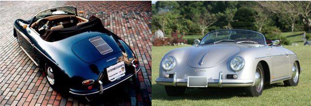 画像: 左はポルシェ356ロードスター、右はポルシェ356スピードスターのレプリカ www.intermeccanica.co.jp