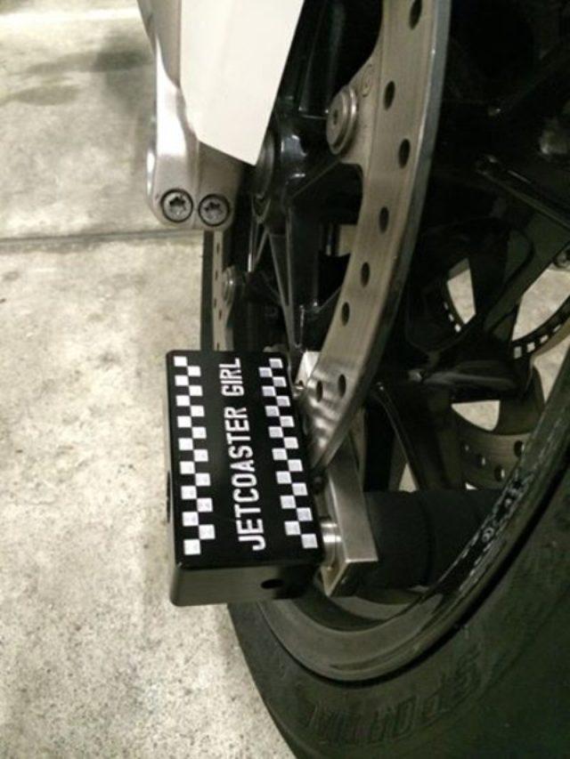 画像: 超頑丈そうなバイクロックを頂きました!(福山理子)