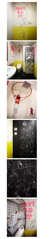 画像: ナイキとコラボしたアートデザイン www.naijelgraph.com