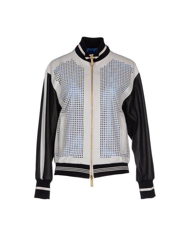 画像: EMANUEL UNGARO sheep skin jacket ¥ 287,000 www.yoox.com