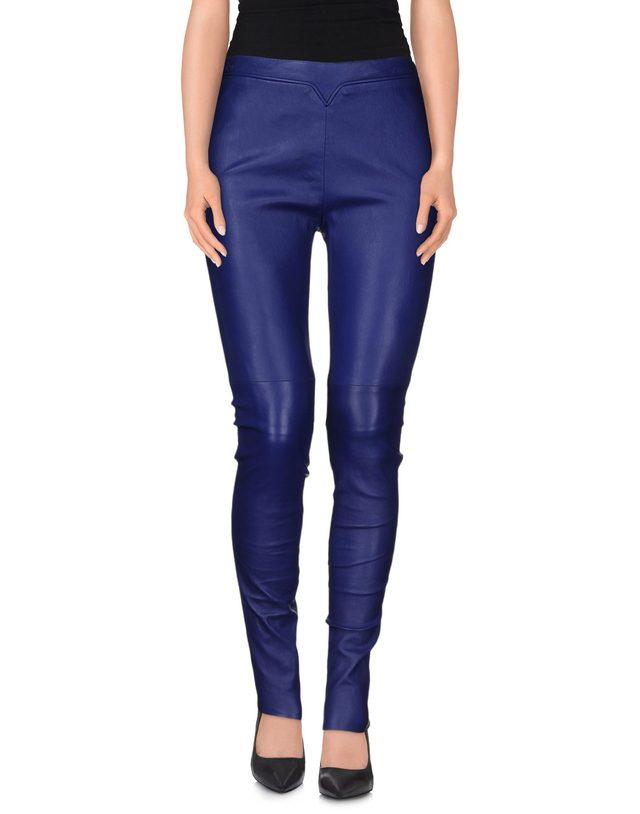 画像: GIORGIO ARMANI ram skin pants ¥ 144,800 www.yoox.com