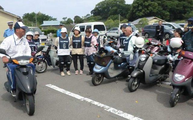 画像: 65歳以上対象、実車によるバイク講習...グッドライダーミーティング鹿児島