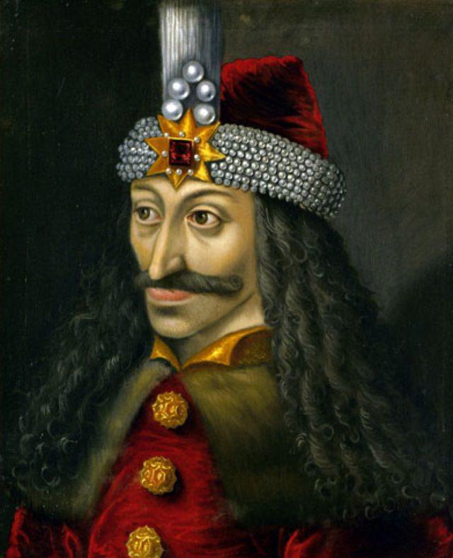 画像: 15世紀のワラキア(現在のルーマニア南部)の領主であったヴラド3世(ヴラド・ツェペシュ、ヴラド・ドラキュラ) ja.wikipedia.org