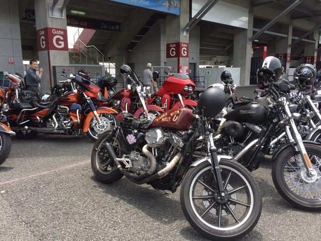 画像3: 富士スピードウェイに、全国のハーレー乗りが集結!