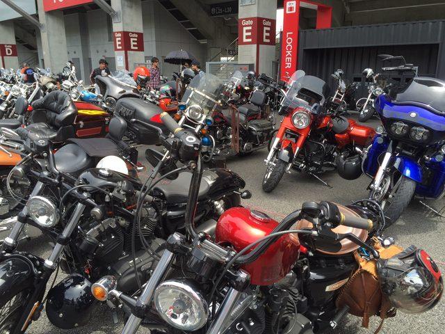 画像2: 富士スピードウェイに、全国のハーレー乗りが集結!