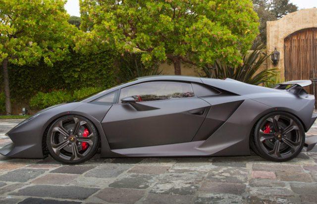画像: Lamborghini Sesto Elemento www.complex.com