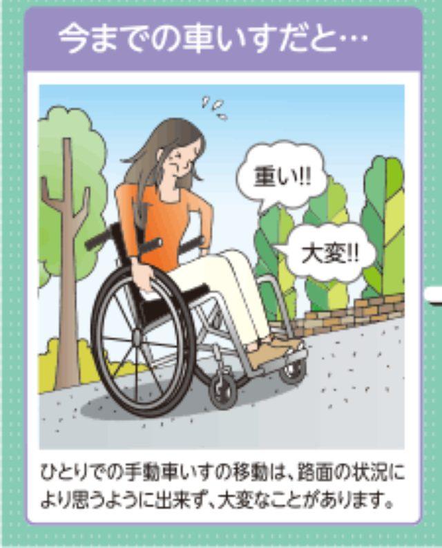 画像: 坂道や悪路には悪戦苦闘してしまう