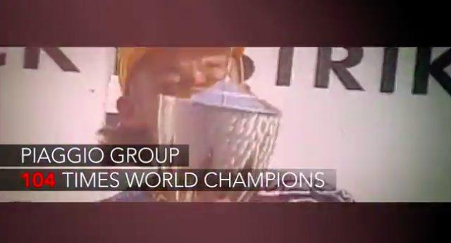 画像: ピアッジオグループで、こんなにも多くの回数チャンピオン獲得していたこと、ご存知でした? 私はお恥ずかしながら、こんなに多かったんだ!と驚きました。