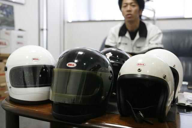 画像: 現代のヘルメットのルーツとなるBELL 500-TX