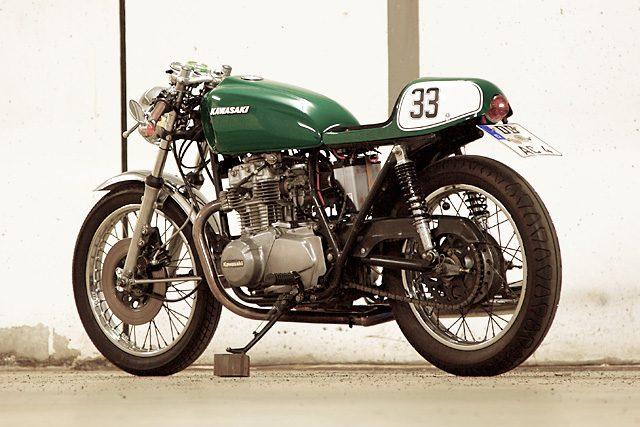 画像2: 78 Kawasaki KZ400 www.pipeburn.com