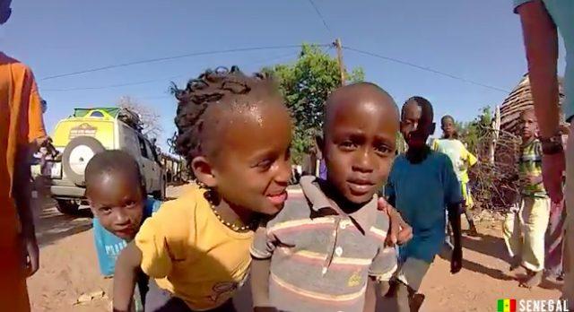 画像: セネガルの子供たち。カワイイですね。子供は地球の宝物です。