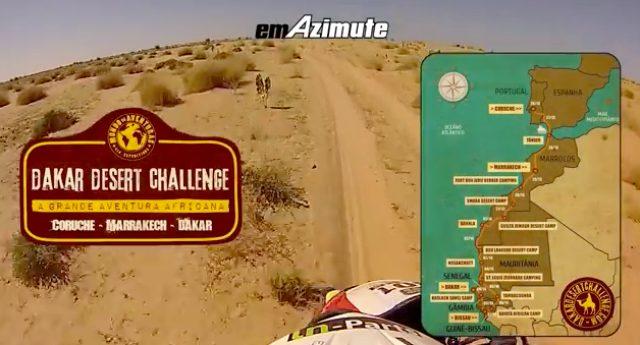 画像: ポルトガルをスタートし、アフリカ大陸5カ国を走りダカールを目指します。走行距離は5960km!