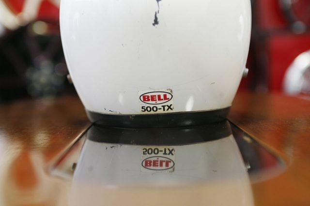 画像: ビンテージヘルメット好きにとって価値ある500-TXの表示