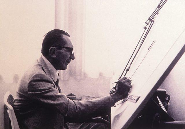 画像: ファビオ・タリオーニ Fabio Taglioni(1920-2001) www.virginducati.com