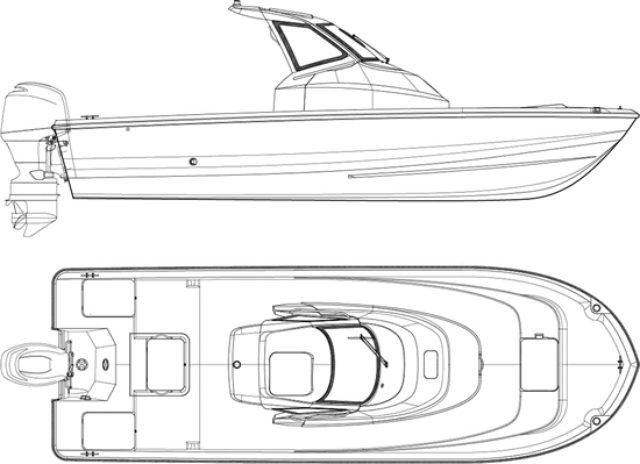 画像: [ニュースリリース]釣りやすさと機能性を追求したフィッシングボート 「F.A.S.T.23」 新発売