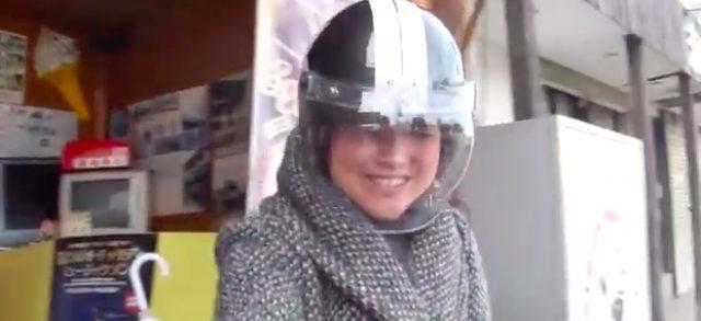 画像1: 女性ライダーがSW-1に‥乗るのかな?