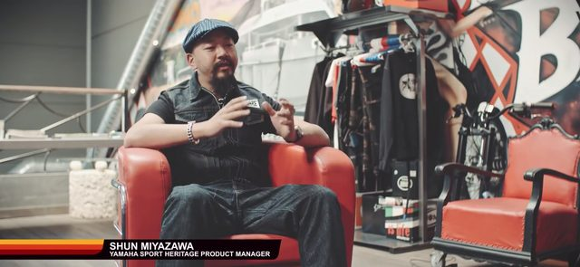 画像: YamahaのMiyazawaさん www.youtube.com