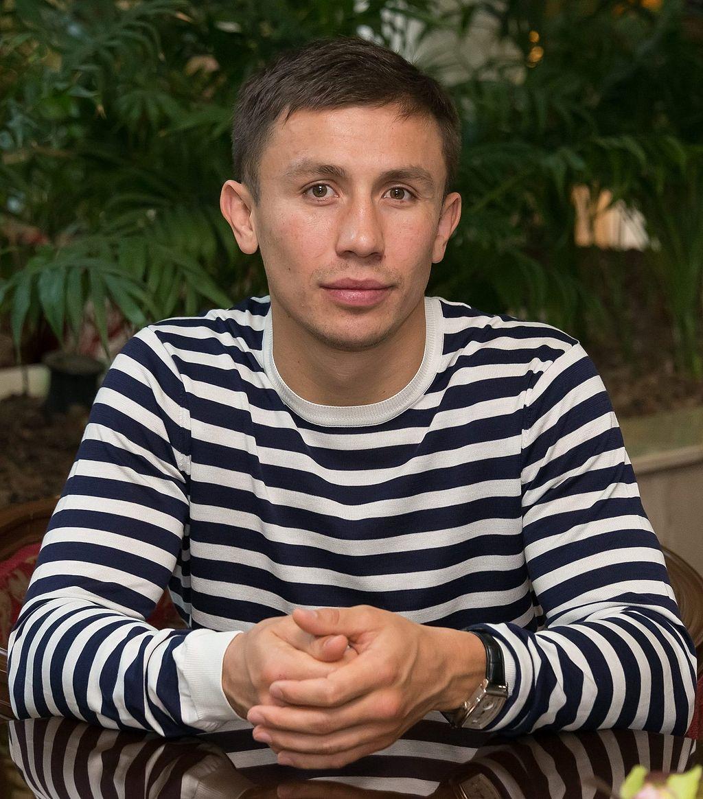 画像: ゲンナディ・ゴロフキン(1982年4月8日生まれの 33歳) ja.wikipedia.org