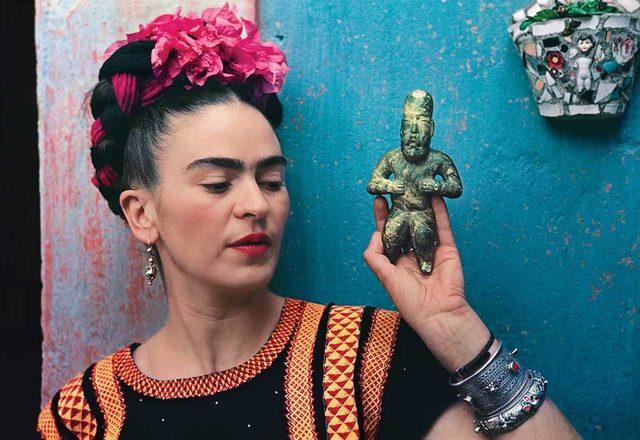 画像: Frida Kahlo waxinandmilkin.com