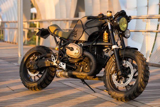 画像: BMW R1200S www.caferacerdreams.com.es