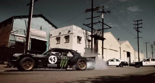 画像1:  【クールな動画】過激なドライバー!モータースポーツ選手ケン・ブロックのドリフトテクニックがすごい!!