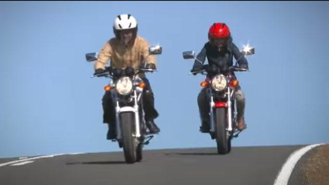 画像: 女性でも乗りやすい!ってことでしょうか