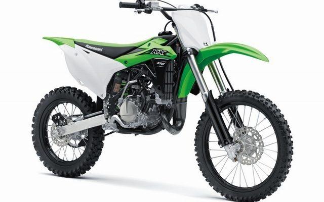 画像: カワサキ 市販モトクロッサー KXシリーズに100ccモデルを追加