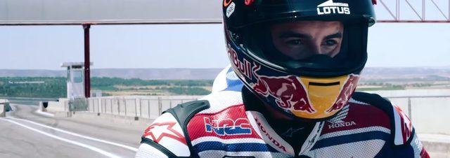 画像: ヘルメットをかぶると目つきは鋭く youtu.be