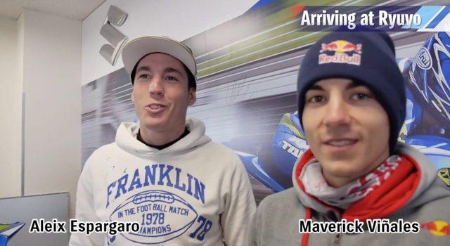 画像: 左がアレイシ・エスパルガロ、右がマヴェリック・ビナーレス www.youtube.com