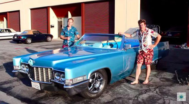 画像: 【オモシロイ車】キャデラックを大改造!お風呂に入りながらドライブできる車!