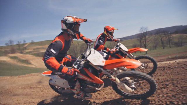 画像2: カッコよく跳べなくてもいい!でもモトクロスがしたいんだ「2016 KTM SX video」