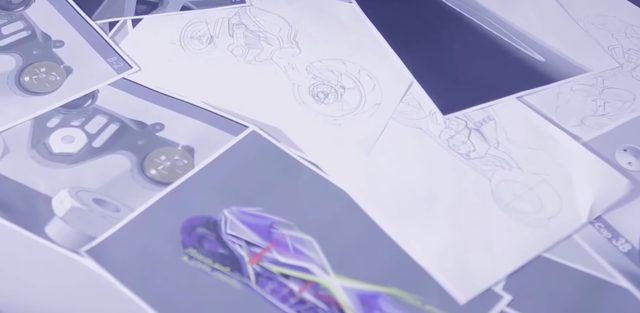 画像: 試行錯誤を繰り返して作られたデザイン www.youtube.com
