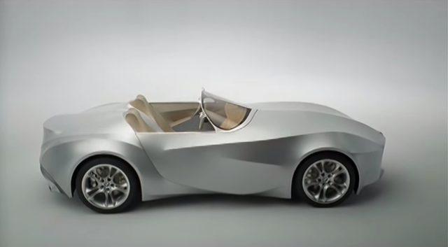 画像1: 布で覆われたBMWのコンセプトカー「GINA(ジーナ)」