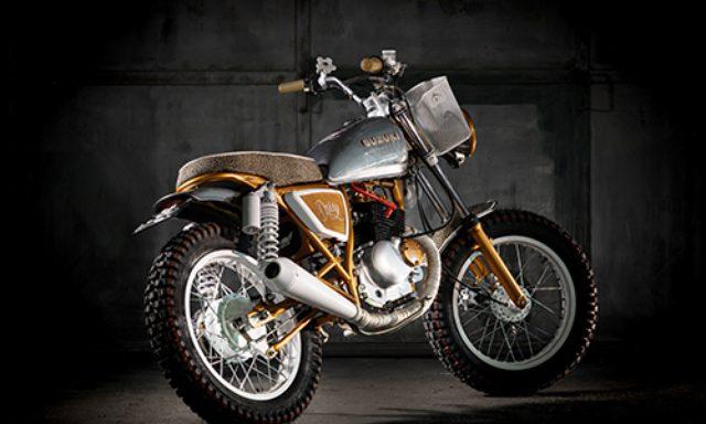 画像: Suzuki GN 125cc www.dreamwheels-heritage.com