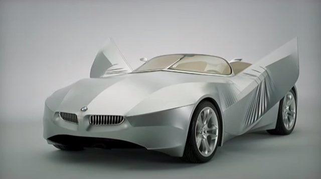 画像2: 布で覆われたBMWのコンセプトカー「GINA(ジーナ)」