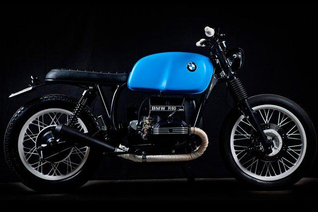 画像: BMW R80 tarmaccustommotorcycles.com