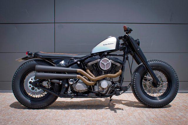 画像: HD ソフテイル tarmaccustommotorcycles.com